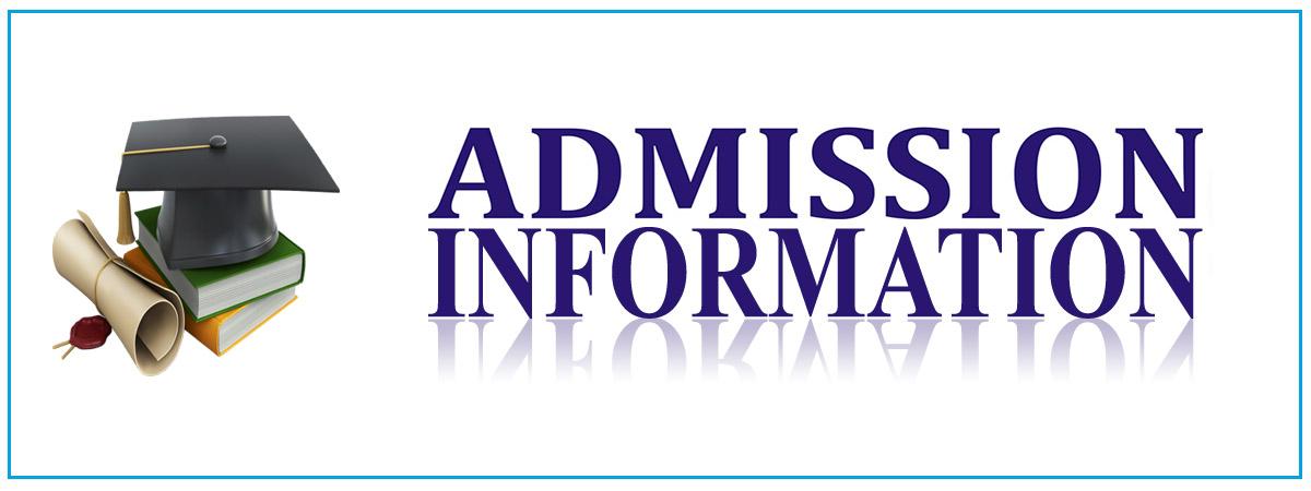 Admission Information Title